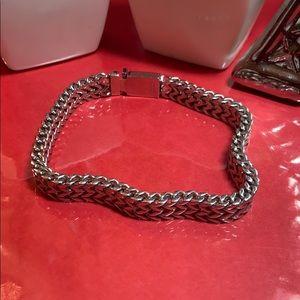 Men's Foxtail Design Stainless Steel Bracelet